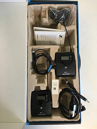 Sennheiser G4 Lav Kit 500 Series