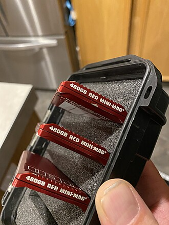 480 gig mini mags x3