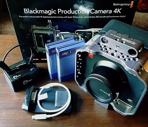 For Sale Blackmagic Design Production Camera 4k Sharegrid