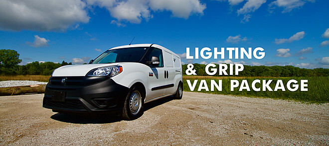 Lighting and Grip Van Package