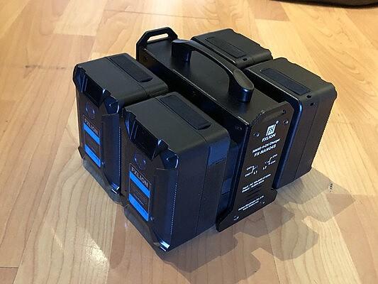FXLION V-Mount Battery Kit (SMALLEST ON MARKET!)