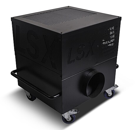 LSX Low Lying Fog Chiller Package (No Ice or CO2 Required, Continuous Operation)
