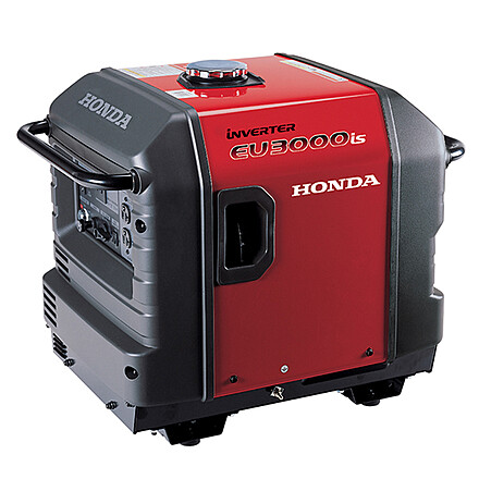 Honda super quiet 3000 genny, with gas can