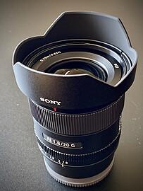 Rent: Sony FE 20mm f/1.8 G Full Frame Wide Angle
