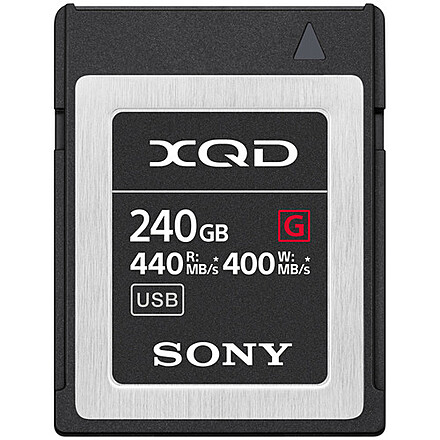 Sony 240GB XQD G Series Memory Card (400MB/s)