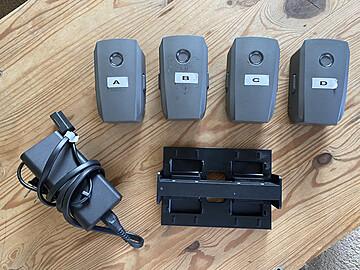 Rent: (4x) DJI Intelligent Flight Battery for Mavic 2 Pro/Zoom