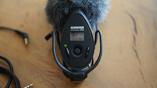 Shure VP83F LensHopper Shotgun Microphone with Integrated Audio Recorder