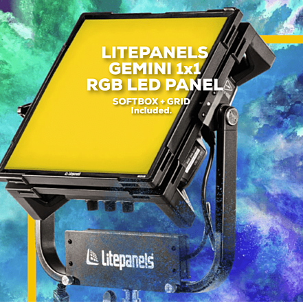 Litepanels Gemini 1x1 Bi-Color LED