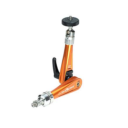 "Bright Tangerine Titan Support Arm with Monitor Side 1/4""-20 QR Bracket (Orange)"