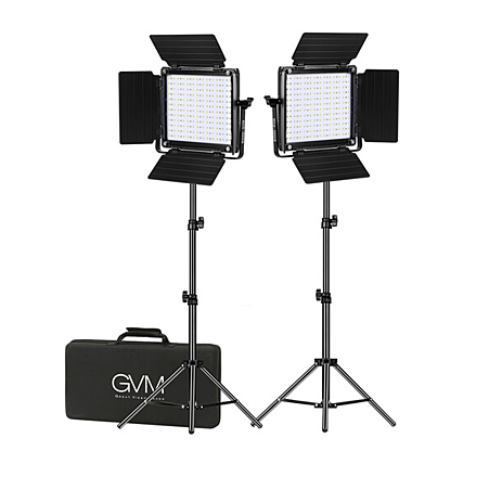 GVM 800D-RGB LED Studio