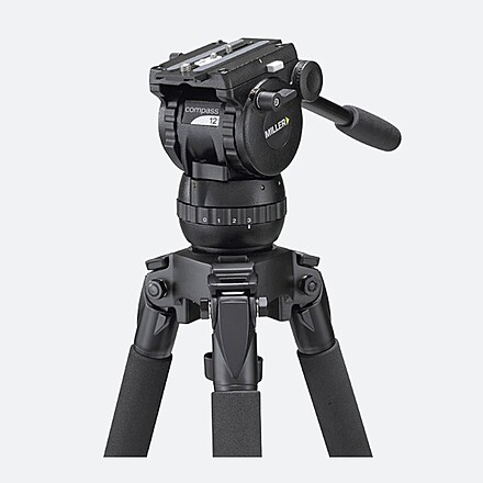 Miller 1870 Compass 12 Tripod System with Aluminum Solo