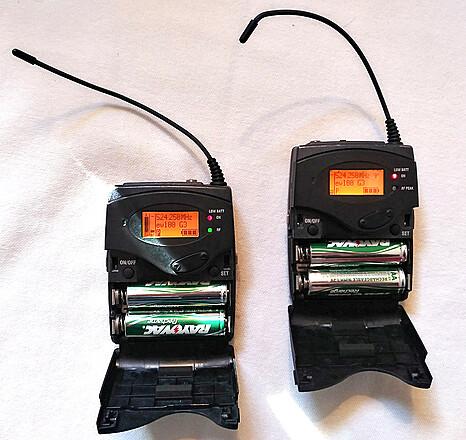 SENNHEISER G3 WIRELESS LAV MIC SET - SK100 TRANSMITTER & EK100 RECEIVER