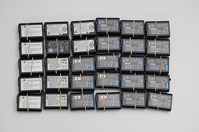 Generic Sony NPFW50 Batteries (For a6000 & A7ii series cameras)
