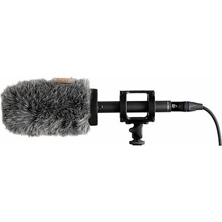 Sennheiser MKE 600 Shotgun Microphone HDSLR Location Recording Kit