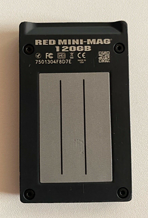 Red mini-mag 120gb