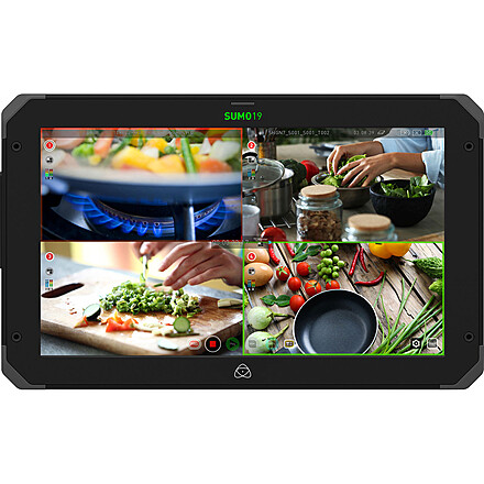 Atomos Sumo 19-in 4K Monitor / Recorder plus stand and aks