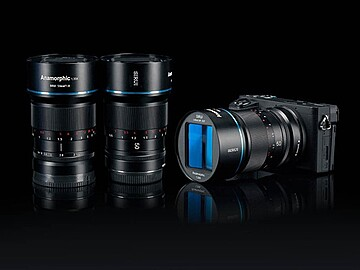 Rent: Sirui 35MM & 50MM E-Mount (Affordable Anamorphic Lens)