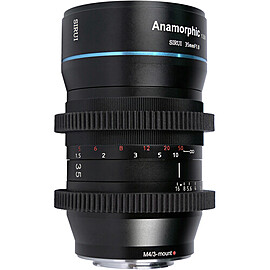Rent: SIRUI 35mm F1.8 Anamorphic Cinema Lens