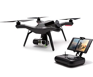 Rent: 3DR Solo Drone Bundle with GoPro, Gimbal, Backpack, and MORE