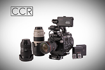 Rent: Sony PXW-FS7 Camera Package w/ Canon L Lens  3 Lens Set