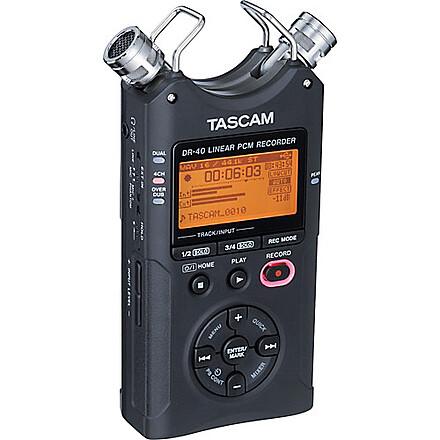 Tascam Dr40 + Headphones