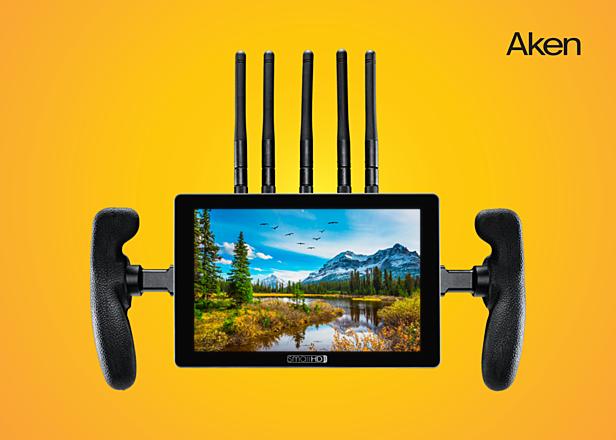 4k HDR Wireless Director's Monitor - 702 Touch +Teradek 4k Module