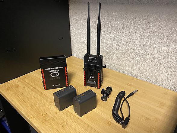 Cinegears Ghost-Eye Wireless Receiver & Transmitter
