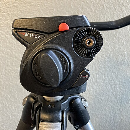 Manfrotto 501 HDV  Sturdy for RED Camera