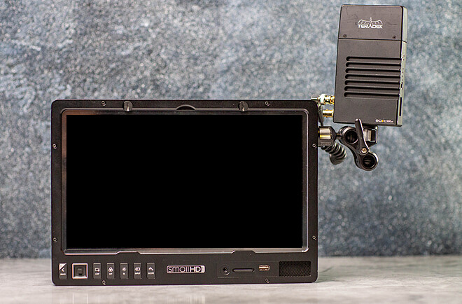 Wireless Video Monitor Kit, SmallHD 1303 HDR and Teradek Bolt 500XT