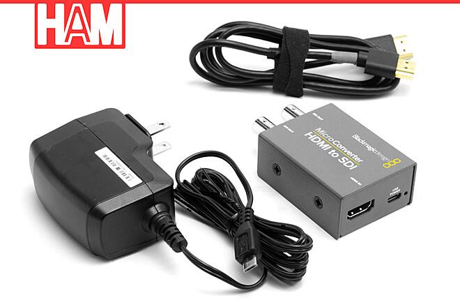 Blackmagic HDMI to SDI Micro Converter with HDMI Cable