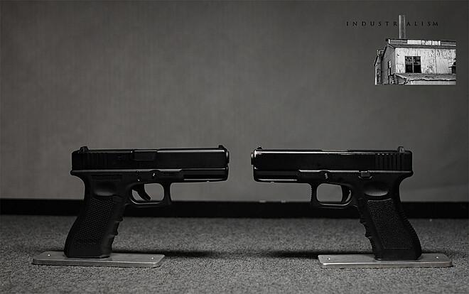 Prop Gun - 2x Glock 17s