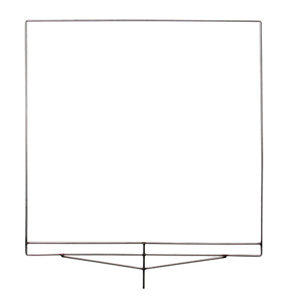 4x4 Empty frame.