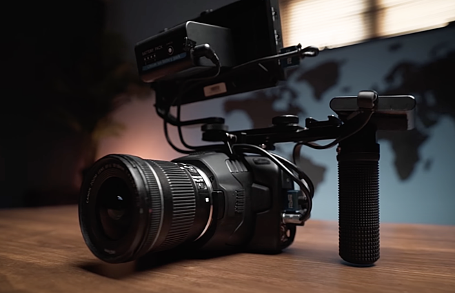 Black Magic Custom Camera Rig