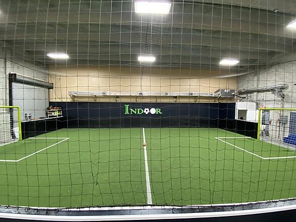 Indoor Soccer Building