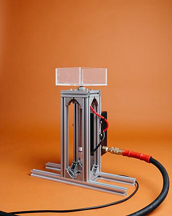 Vertical Pneumatic Launcher