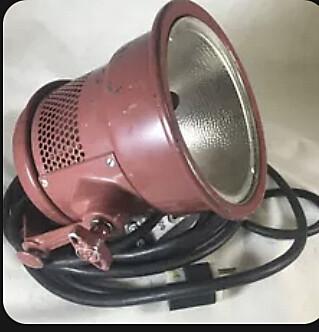 Mole-Richardson 1,000 Watt Molequartz Mickey-Mole Flood Light