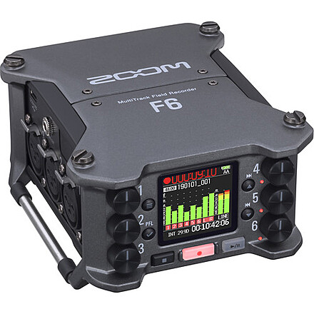 32 bit Field Recording Package, Sound/Boom Operator Package