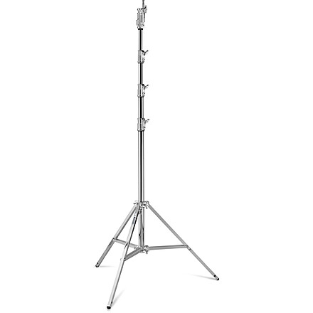 Avenger Combo Stand 45 with Leveling Leg (Chrome-plated, 14.7')