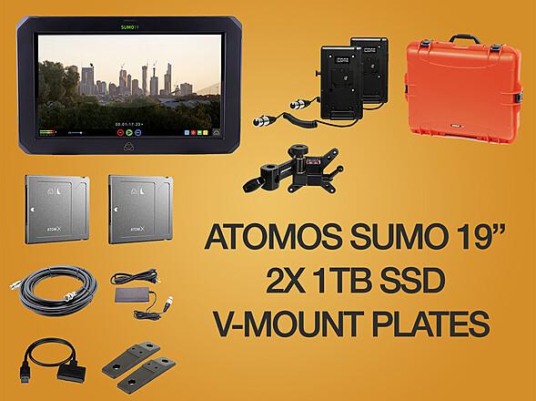 Atomos Sumo 19-in 4K Monitor and Recorder