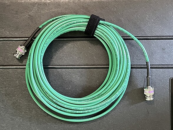 12G 4K HD SDI BNC Cable Belden 4855R Mini AV cables RG59 hdsdi 35' Feet
