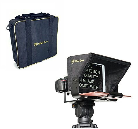 """Glide Gear TMP 100 -  Camera to Prompt Tablet/ Smartphone 12"""" Teleprompter"""