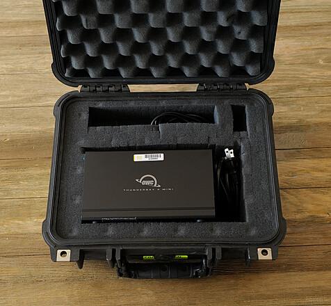 16TB SSD (Solid State) Raid - Thunderbolt 3 / USB-C + Pelican Case