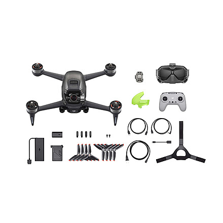 DJI FPV Combo Drone Quadcopter + FPV Goggles!