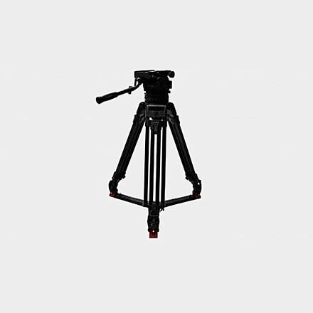 Sachtler Cine 30 Tripod Head and Sticks & 150mm bowl hd heavy duty baby legs or