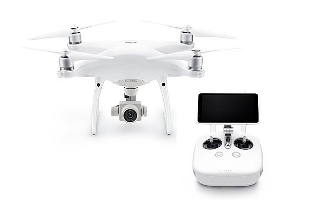 DJI Phantom 4 Pro+ Quadcopter Drone + Pilot