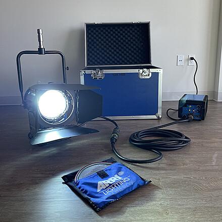 Came-TV 1.2k HMI Fresnel Light Kit +