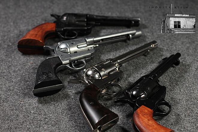 Prop Gun - 4x Western Revolvers