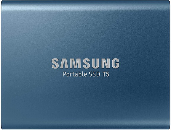 500GB Samsung T5 Portable SSD w/ cold shoe mount