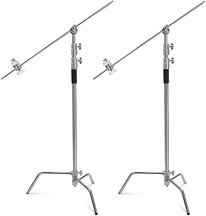 SELENS C-STAND WITH BOOM ARM GRIP 2 STAND KIT