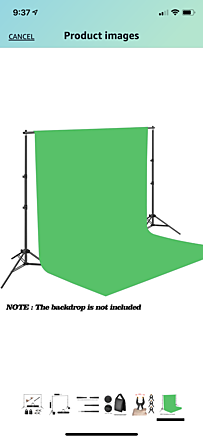 Green Screen w/ Stand & Suit